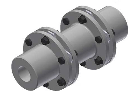 Plates pack couplings